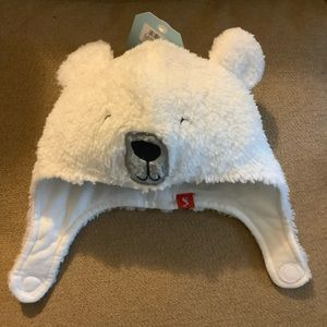 Joules Baby Snuggle Bear Plush Cap 6-12 Months New